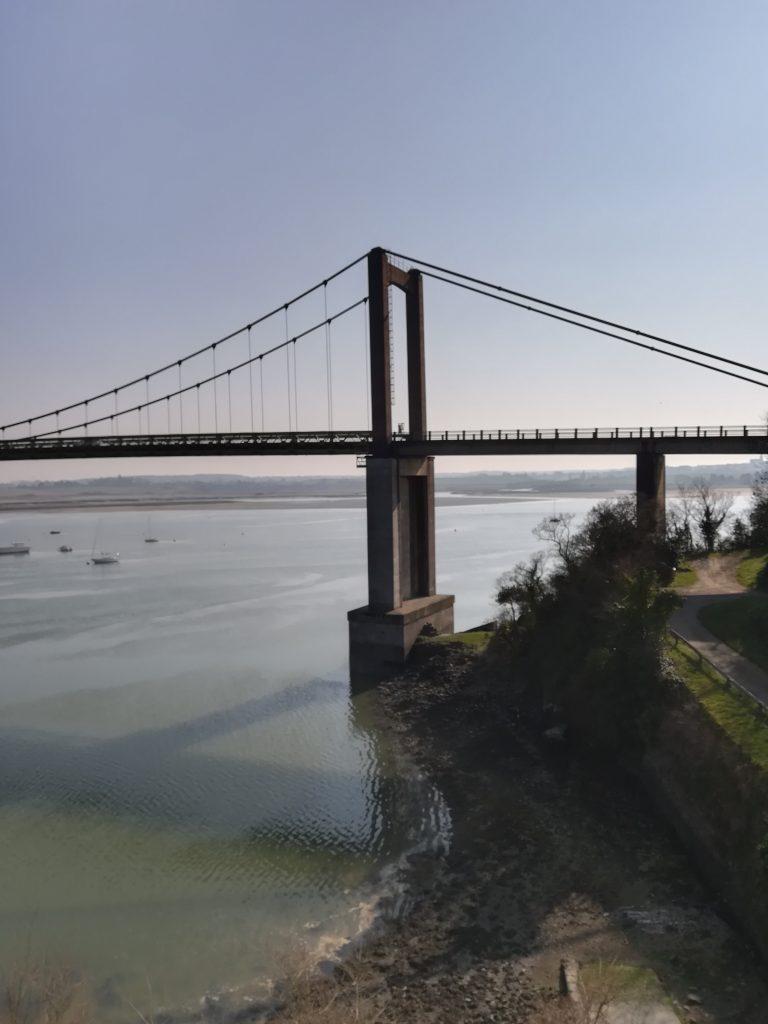 Endurance trail des corsaires passage pont